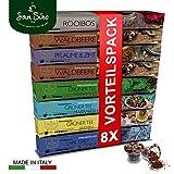 %Spar-Angebot: 80 Kapseln SanSiro Tee Selection Box No. 1: Nespresso kompatible Tee-Kapseln - 8x 10 Teekapseln