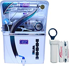 DE AquaZpure 15L 14 Stage RO UV UF TDS Alkaline Water Purifier with Full KIT (A700)