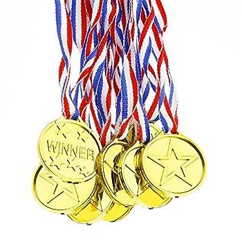Ndier Juego de 12 medallas...