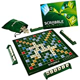 Rvold Big Size Scrabble Board Game For Kids And Adults - Best Family Fun Time Game
