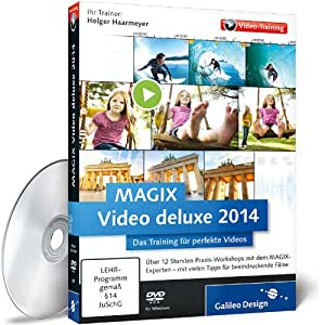 MAGIX Video deluxe 2014 - Das Training für perfekte Videos