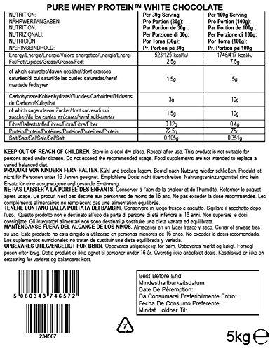 BULK POWDERS Whey Protein Weiße Schokolade, 5 kg - 2