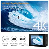 APEMAN Action Kamera WIFI sports cam 4K camera 20MP Ultra Full HD Unterwasserkamera - 2