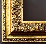 Online Galerie Bingold Bilderrahmen Rom Gold 6,5 - LR - Din A0 (84,1 x 118,9 cm) - Wählen Sie aus über 500 Varianten - Alle Größen - Landhaus, Antik, Barock - Fotorahmen Urkundenrahmen Posterrahmen