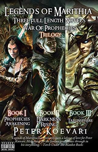 Legends of Marithia: War of Prophecies (3 Full Novel BOX SET) (English Edition) (Set Bryant)