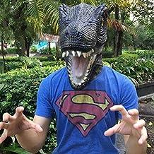 Máscara de Fiesta Regalo de Dinosaurio Cabeza máscara Disfraz – Goma T Rex, ...