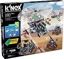 K'Nex 31480 - Combat Crew 5 in 1, Gioco di costruzioni [Lingua inglese]