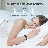 GOKOO Smartwatch Montre Connectée Bracelet Connectée Étanche IP68 Sport Écran Couleur Femme Homme Enfant Cardio Fitness Podomètre Tracker d'Activité Cardiofréquencemètre pour Android iOS Smartphone