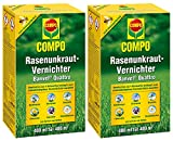 Oleanderhof Sparset: 2 x COMPO Rasenunkraut-Vernichter Banvel Quattro, 400 ml + gratis Oleanderhof Flyer