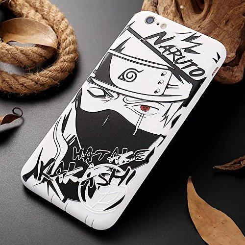 Price comparison product image For iPhone 7-8 Naruto Hatake Kakashi Anime Manga Silicon Case Cover
