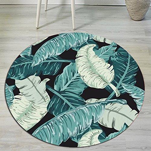 BAGEHUA Teppich Garderobe Nordic Runde Wohnzimmer große amerikanische Elch Schlafzimmer Computer Stuhl Matte,benutzerdefinierte Größe,N -