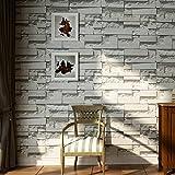 3D Ladrillo Papel Pintado ladrillo piedras papel de pared Para Adornar la Sala de Estar el Dormitorio (A)