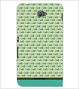 PrintDhaba Owl Pattern D-1647 Back Case Cover for SONY XPERIA E4 (Multi-Coloured)