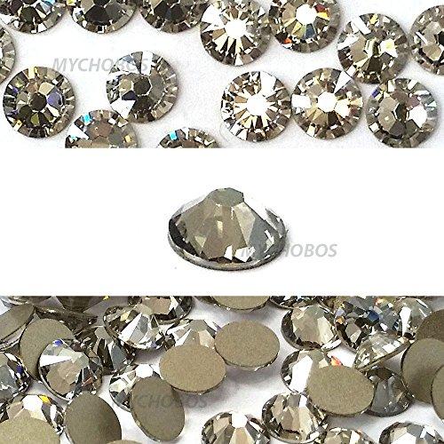 144 pcs Crystal Silver Shade (001 SSHA) Swarovski 2058 Xilion / NEW 2088 Xirius 16ss Flat backs Rhinestones 4mm ss16 by Crystal-Wholesale -