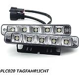 PLC020 12V super heldere LED dagrijverlichting E4 auto KFZ dagrijlichten daylight