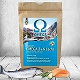 DOGREFORM Omega 3 + 6 Lachs Trockenfutter für Hunde