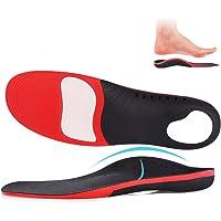 Solette Ortopediche Supporto per Arco Plantari e Fascite Plantare, Solette Scarpe per piedi piatto, ideale per lo sport…