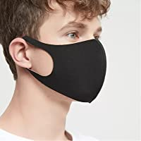 Unisex Black Stretchable face Mask Free Size for Men and womens