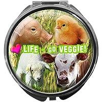 Pillendose/rund/Modell Leony/Veggies/LOVE LIFE preisvergleich bei billige-tabletten.eu