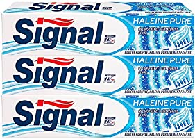 Signal Dentifrice Haleine Pure 75ml - Lot de 3