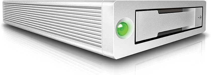 CalDigit Plateforme de stockage AV PRO 2 Disque Externe USB-C- Chargement jusqu'à 30W, Compatible avec MacBook PRO 2016 et PC Thunderbolt 3 (1TB)