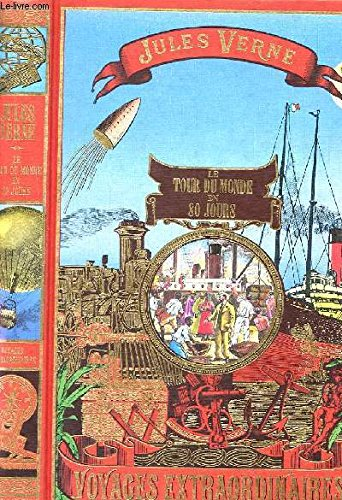 JULES VERNE le tour du monde en 80 jours 1990 Cremille