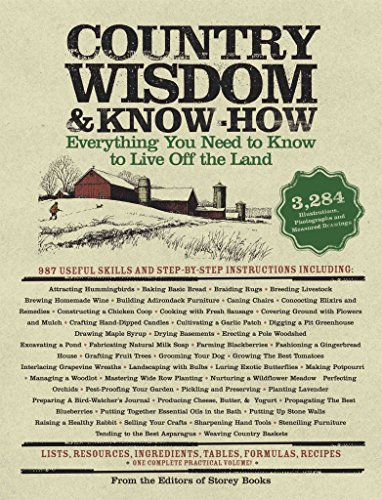 [Country Wisdom Almanac and Know-how: Everything You Need to Know to Live Off the Land] (By: Storey Books) [published: October, 2004]