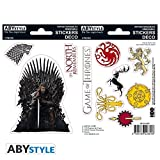 X5 Game of Thrones Stark Sigils Stickers – 16 x 11 cm / 2 Sheets