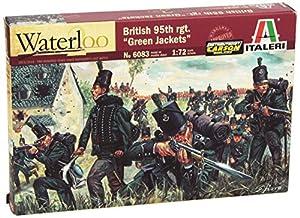 Italeri 6083S  - Guerras Napoleónicas - British 95a RGT. Chaquetas Verdes