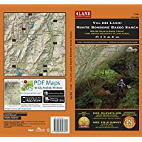 Val dei laghi monte Bondone basso Sarca. 800 km mountainbike trails. From Brenta Dolomites to lake Garda. Ediz. italiana, inglese e tedesca