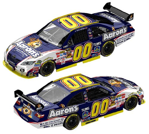 nascar-nos-embroidered-sew-iron-david-reutimann-00-aarons-2010-toyota-camry-1-24-stealth-finition-en