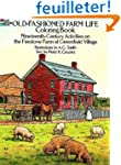 OLD-FASHIONED FARM LIFE. Coloring book