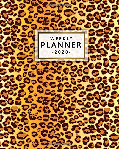 2020 Weekly Planner: Monthly Weekly Daily Views with To-Do's, Funny Holidays & Inspirational Quotes, Vision Boards, Notes & More | Cute Leopard 2020 Organizer, Agenda & Diary Cute Leopard