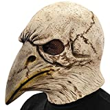 Best Eagle Costume Wigs - Carnival Toys 1431 – Mask Skeleton Latex Eagle with Exhaust Review