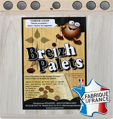 Breizh Palets - Jeu de palets breton 70x70cm
