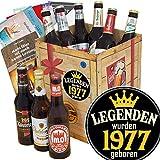 Legenden 1977 ++ Geburtstagsgeschenke Freundin ++ DDR Produkte Bier