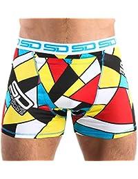 Smuggling Duds Abstract Boxer Brief Shorts