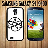 Atheist Symbol Custom made Case/Cover/Skin FOR Samsung Galaxy S4 -Black- Rubber Case (Ship From CA)