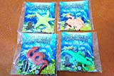 #9: Art box latest Soft water grow 4 Aquatic Magic Animal toy figures ( grows 6 times in water ) 4 assorted counts