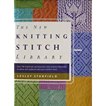 New Knitting Stitch Library by Lesley Stanfield