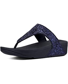 c415ee0342c1 Fitflop Glitterball Post T-Strap Sandales pour Femme
