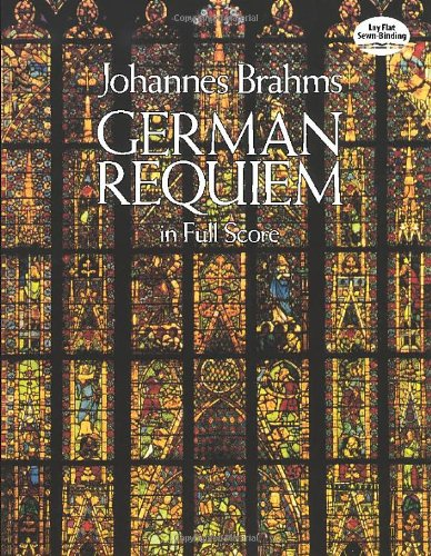 German Requiem in Full Score (Dover Vocal Scores)