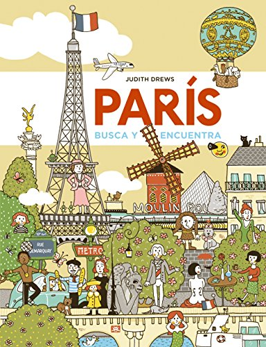 París : busca y encuentra por From Anaya Educación