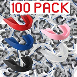 Ringside Bulk 100 Mouthpieces Box One Size