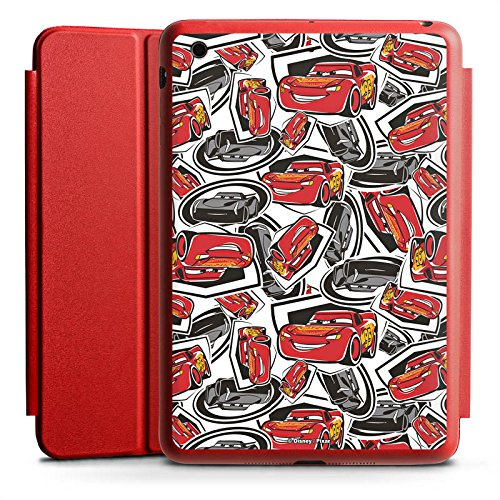 Apple iPad Mini 4 Smart Case rot Hülle mit Ständer Schutzhülle Cars 3 Muster Disney Pixar