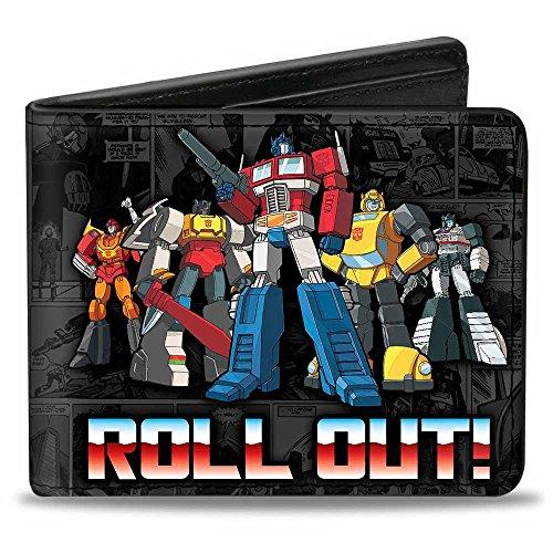 Buckle Down ,  Jungen Kinder-Geldbörse Gr. Einheitsgröße, Transformers