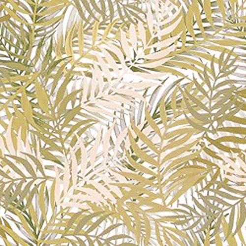 Wachstuch Bambus Beige Glatt · Eckig 80x40 cm · Länge wählbar· abwaschbare Tischdecke