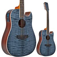 Lindo B-STOCK Zodiac 12-String Electro-Acoustic Guitar with Preamp and Chromatic Tuner (Cosmetic Imperfections)