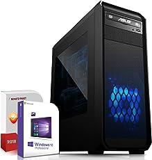 Komplett PC Office / Multimedia inkl. Windows 10 Pro 64-Bit! - AMD Dual-Core A6-5400K 2x 3,8GHz Turbo - ATI Radeon HD 7540D 4GB HyperMemory APU - 8GB DDR3 RAM - 1000GB HDD - 24-fach DVD Brenner - USB 3.0 - DVI - HDMI - VGA - Computer mit 3 Jahren Garantie!
