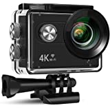 Xmate Stunt Sports Action Camera (Black)   Fast Mode - up to 120 FPS Video Recording  16MP Camera   4K Video Vecording…